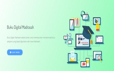Download Buku Digital Madrasah untuk RA, MI, MTs dan MA sesuai KMA 183 Tahun 2019